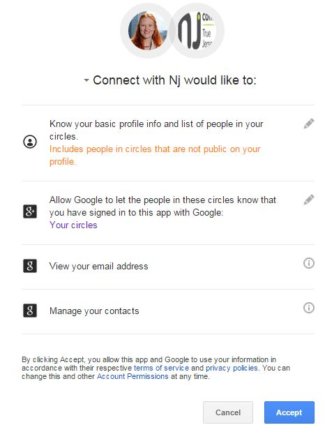 Why do you need to Manage my contacts?